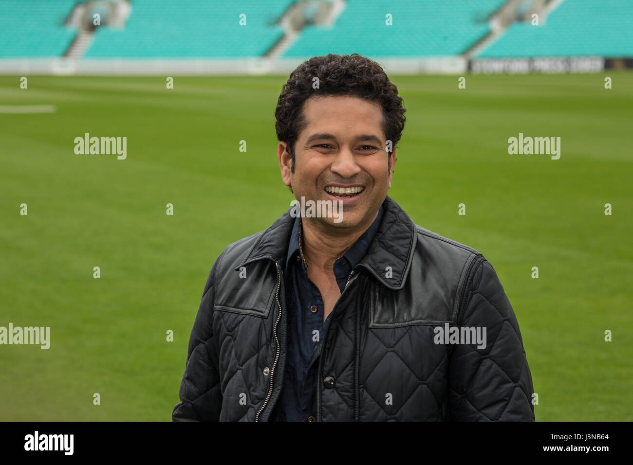 London, UK. 6 Mai 2017. Das Foto-Shooting für die London Film Version von Sachin Tendulkar: A Billion Träume Stockbild
