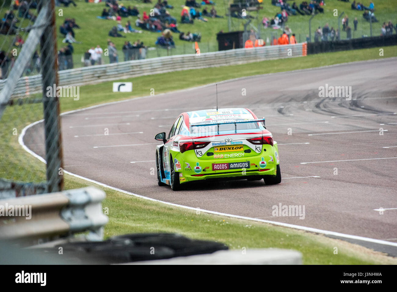 Hampshire, UK. 6. Mai 2017. Thruxton Rennstrecke und Motorsport-Zentrum, Andover, Hampshire, Vereinigtes Königreich. Stockbild
