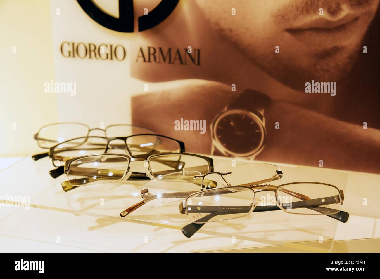 Miami Florida Coral Weise Optiker Optiker Brillen Brillengestelle ...