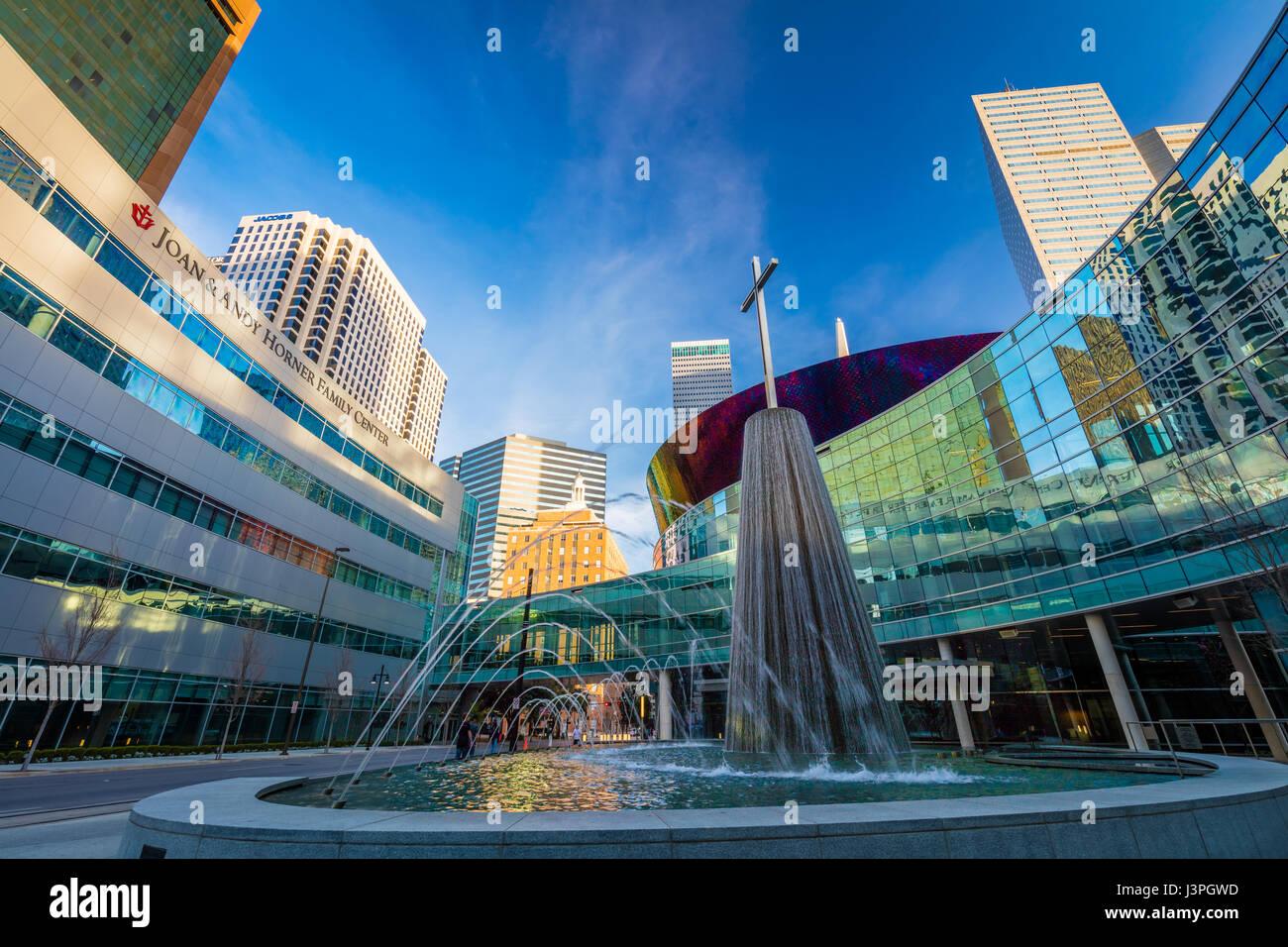 Dallas ist die neunte bevölkerungsreichste Stadt in den Vereinigten Staaten von Amerika und die drittgrößte Stockbild