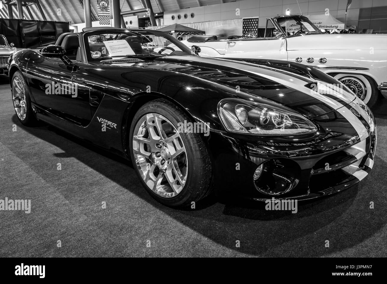 Stuttgart Deutschland 3 Marz 2017 Sportwagen Dodge Viper Srt 10