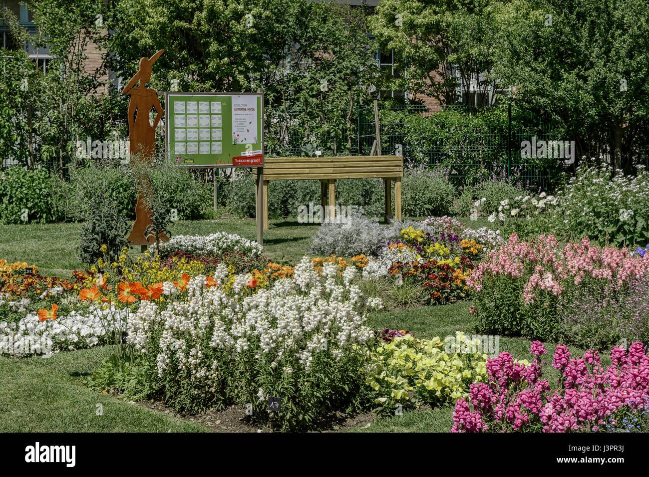 Jardin Des Plantes Toulouse Stockfotos & Jardin Des Plantes ...