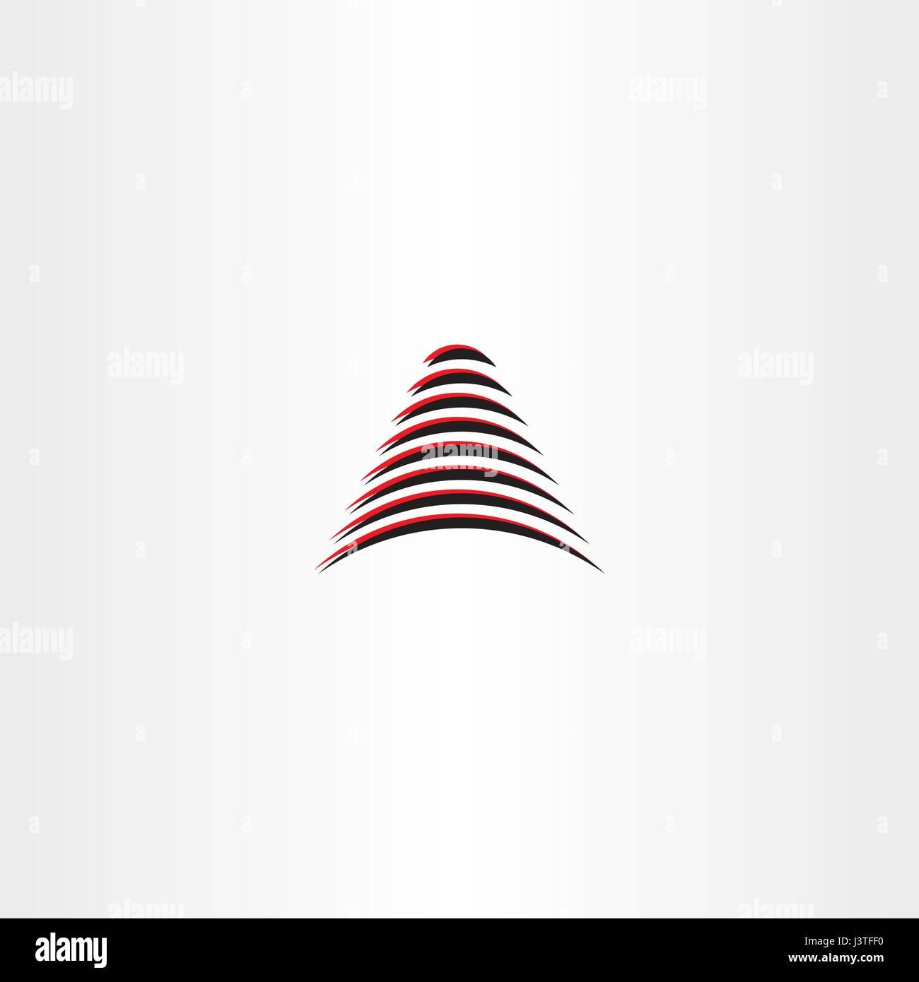 Zusammenfassung Aufbau Logo Vektor Zeichen Design Vektor Abbildung