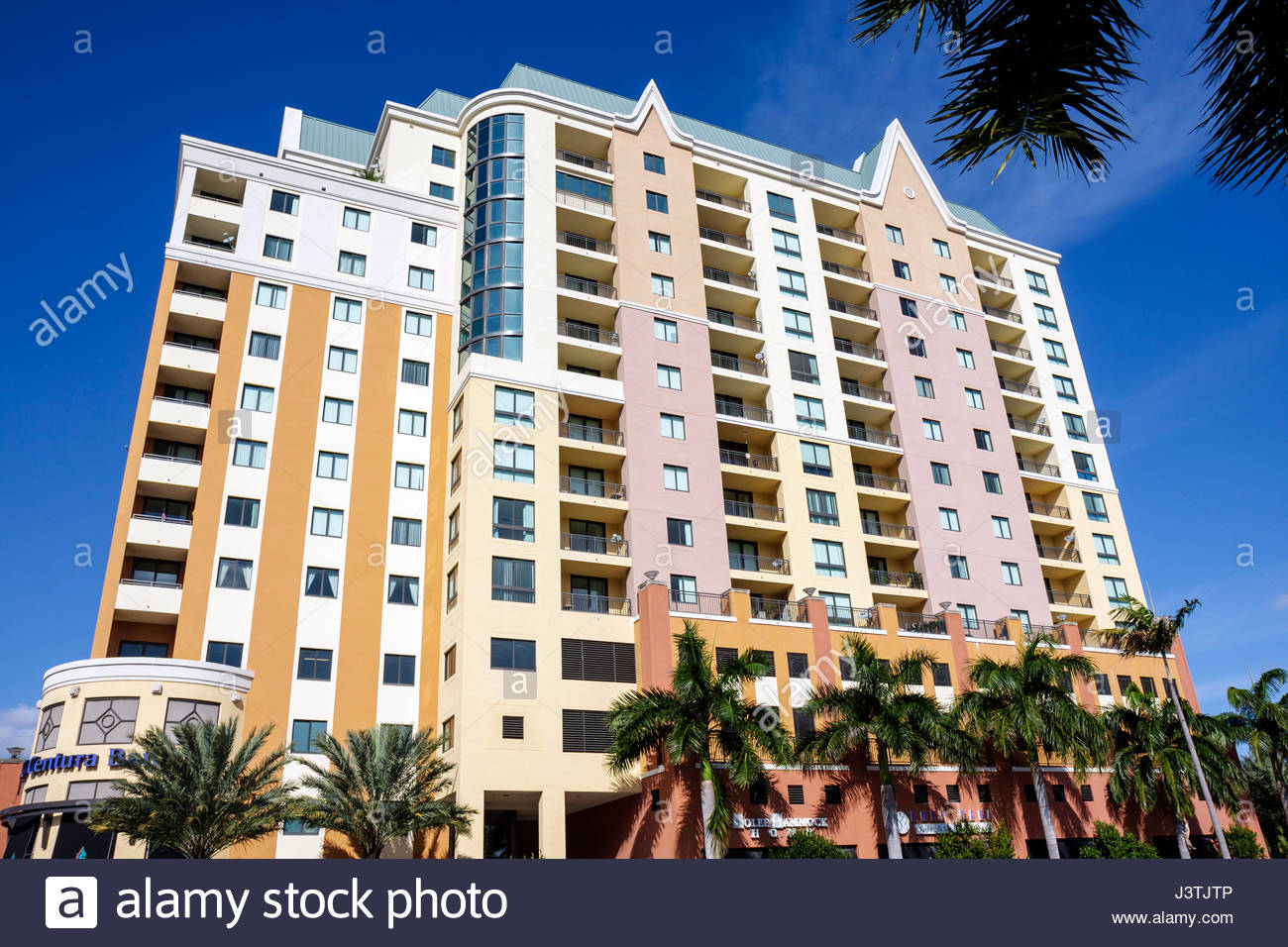 Fort Lauderdale ft. Florida der Waverly am Las Olas Hochhaus ...