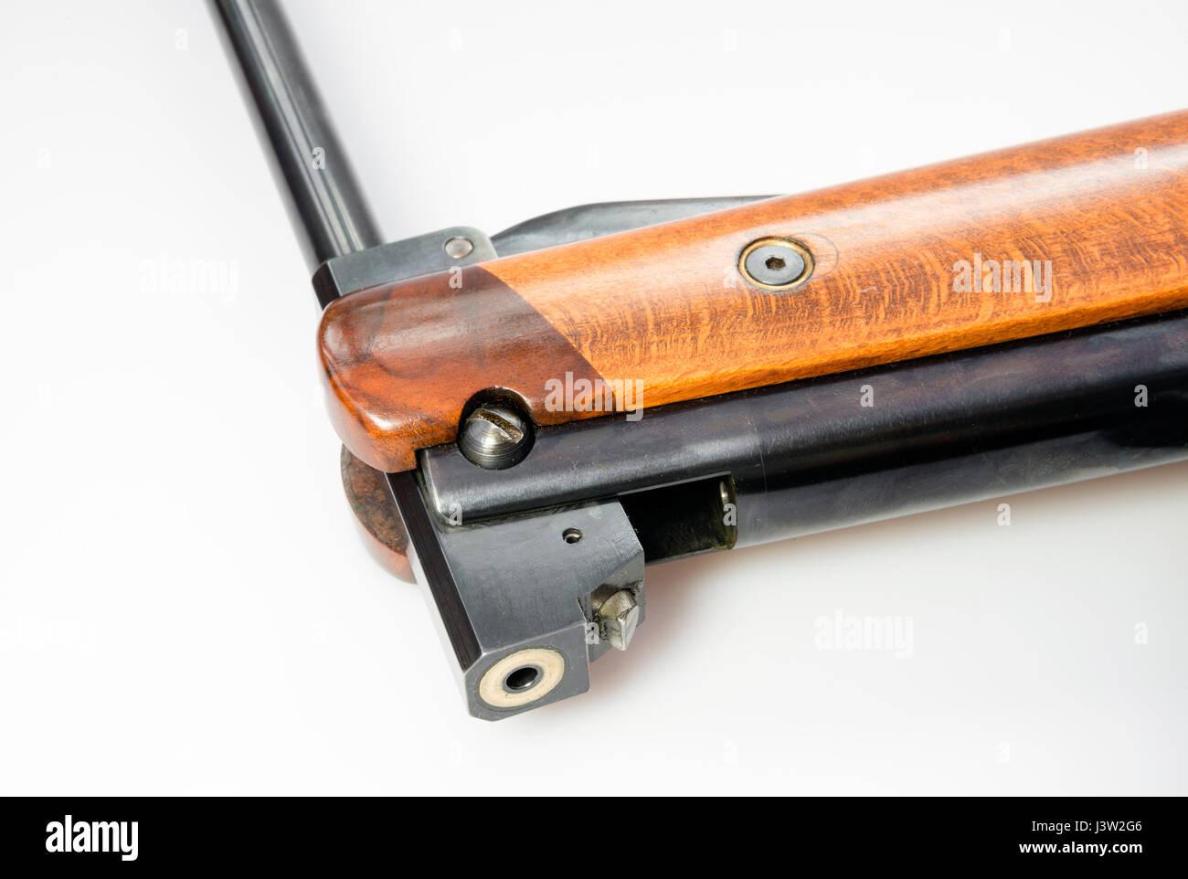 Lauf Luftgewehr.177 Kaliber benutzerdefinierte Luftgewehr auf einem HW85 basiert zu brechen. Stockbild