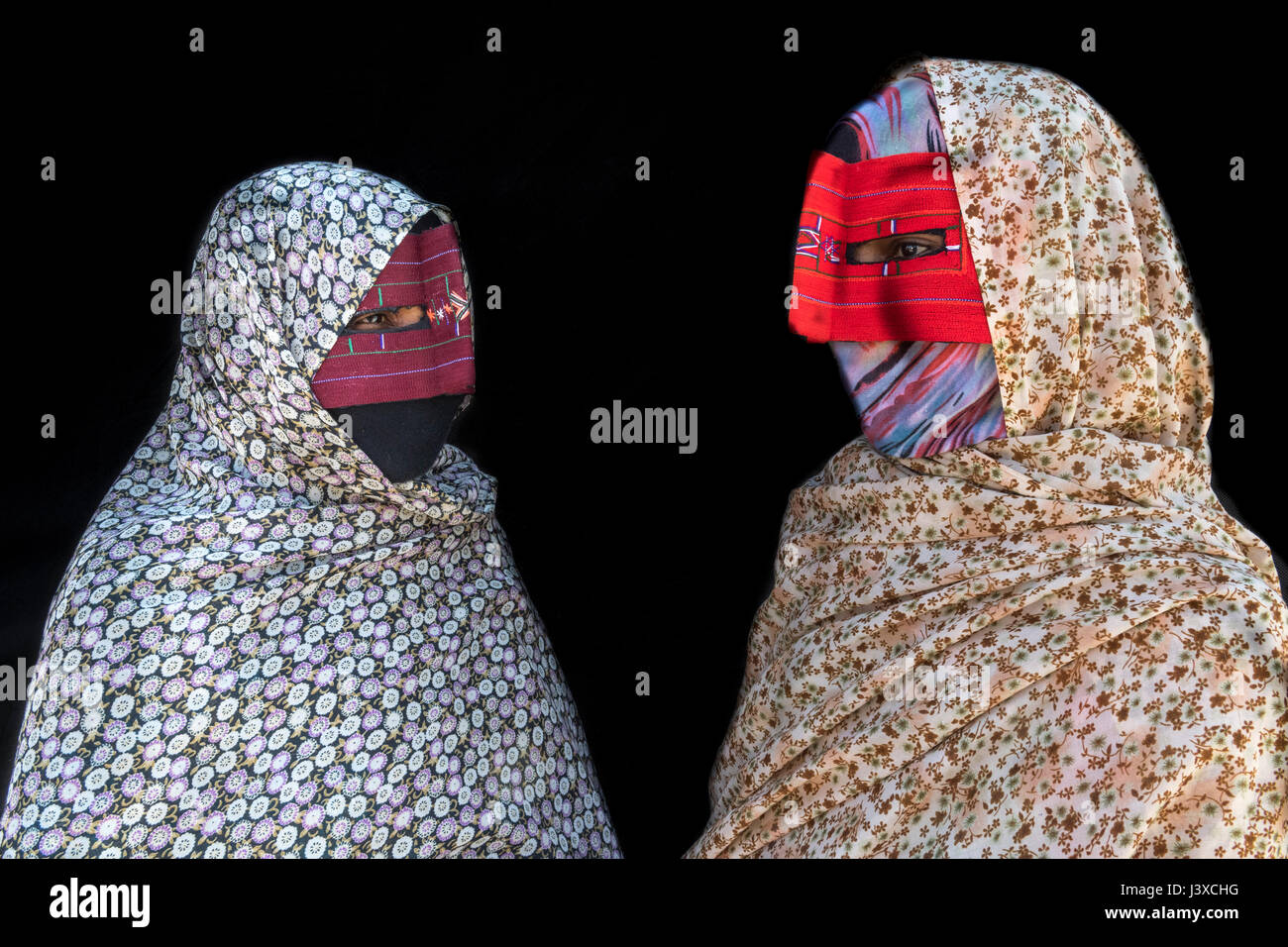 Burka-Blasen Freier Ebenholz-Mummel-Sex