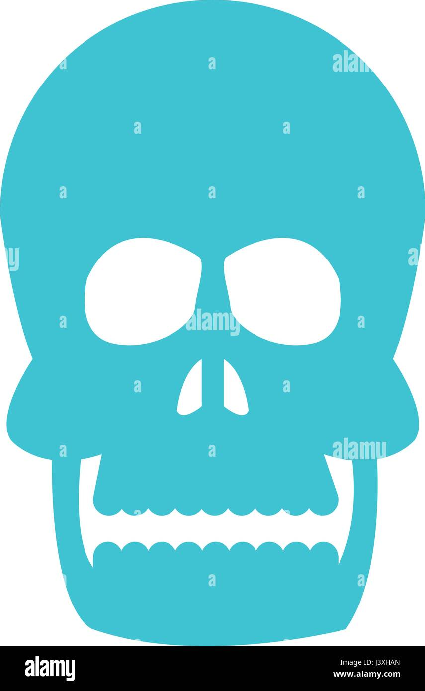 menschlicher Kopf Schädel Knochen Medizin Bild Vektor Abbildung ...