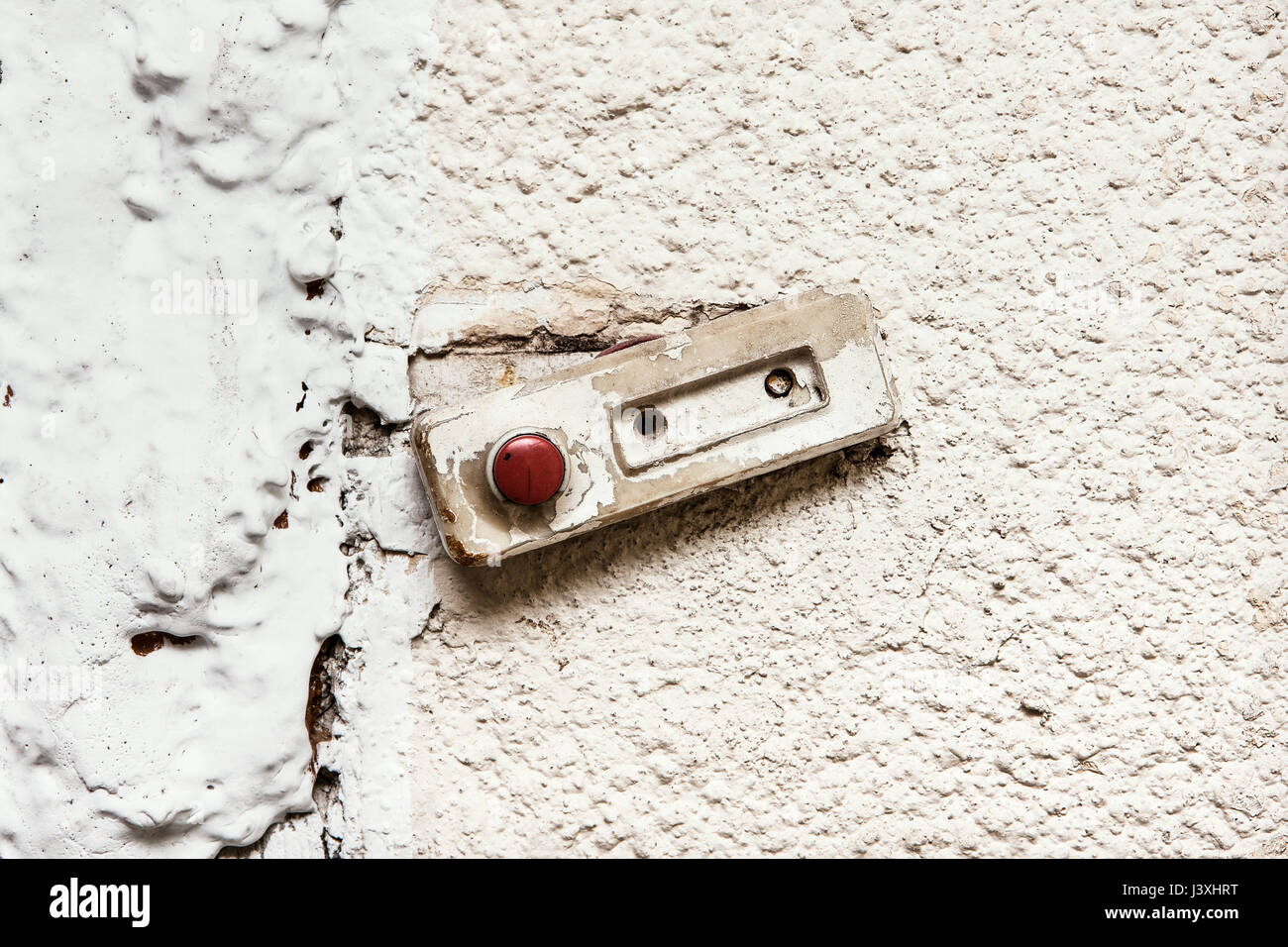 Kommunistischen Summer oder Tür Glocke Stockbild