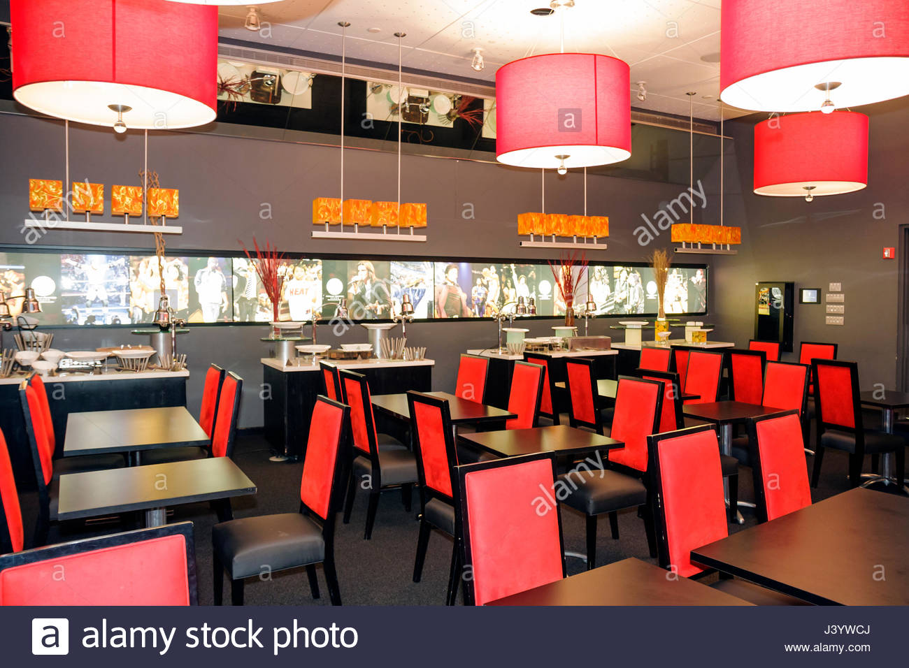 Miami Florida Biscayne Boulevard American Airlines Arena Flagship ...