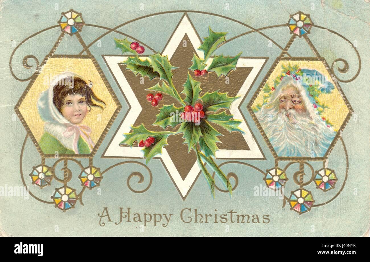 Christmas 1909 Stockfotos & Christmas 1909 Bilder - Alamy