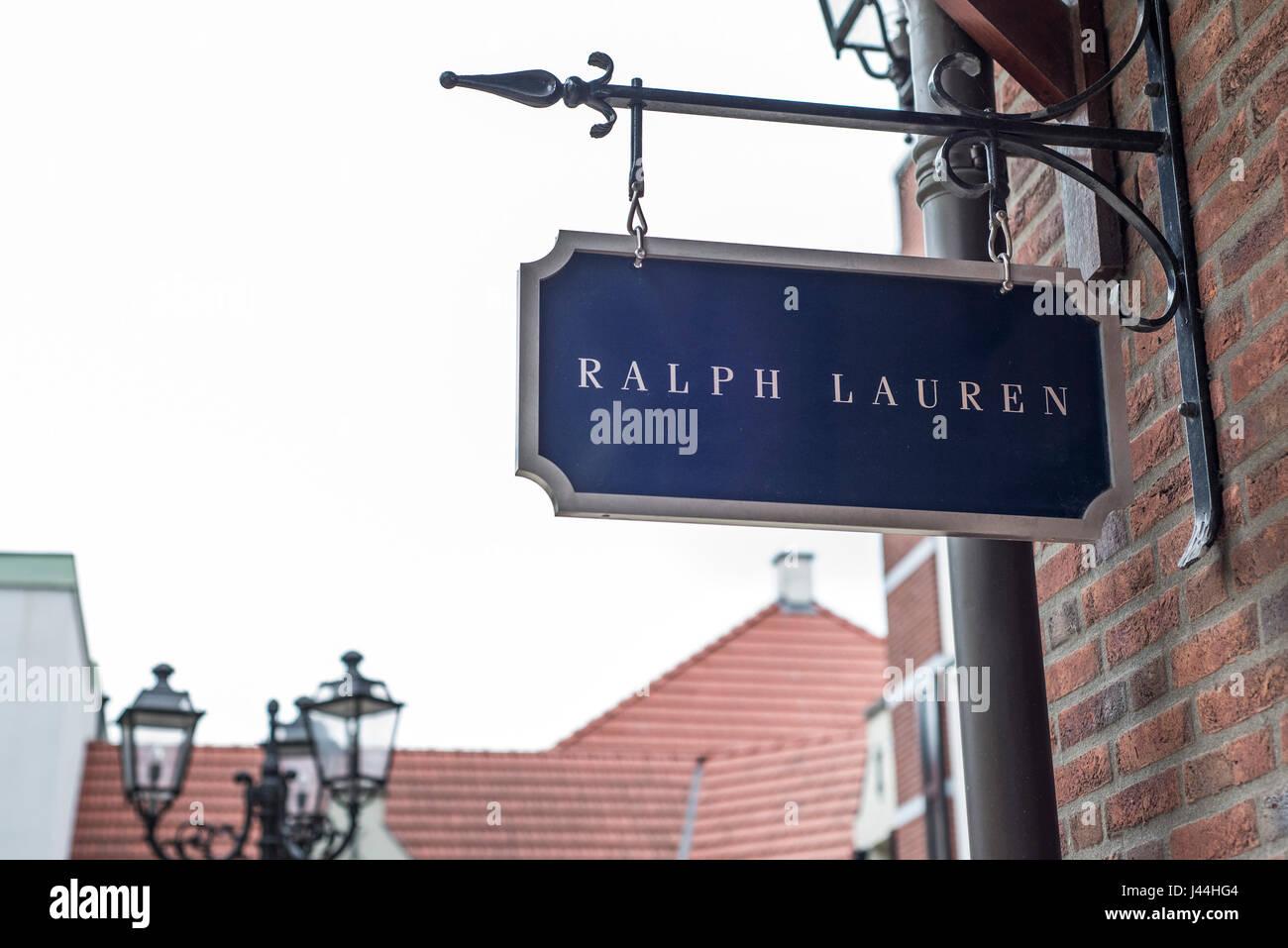 Roermond Niederlande 07 05 2017 Logo Zeichen Von Polo Ralph