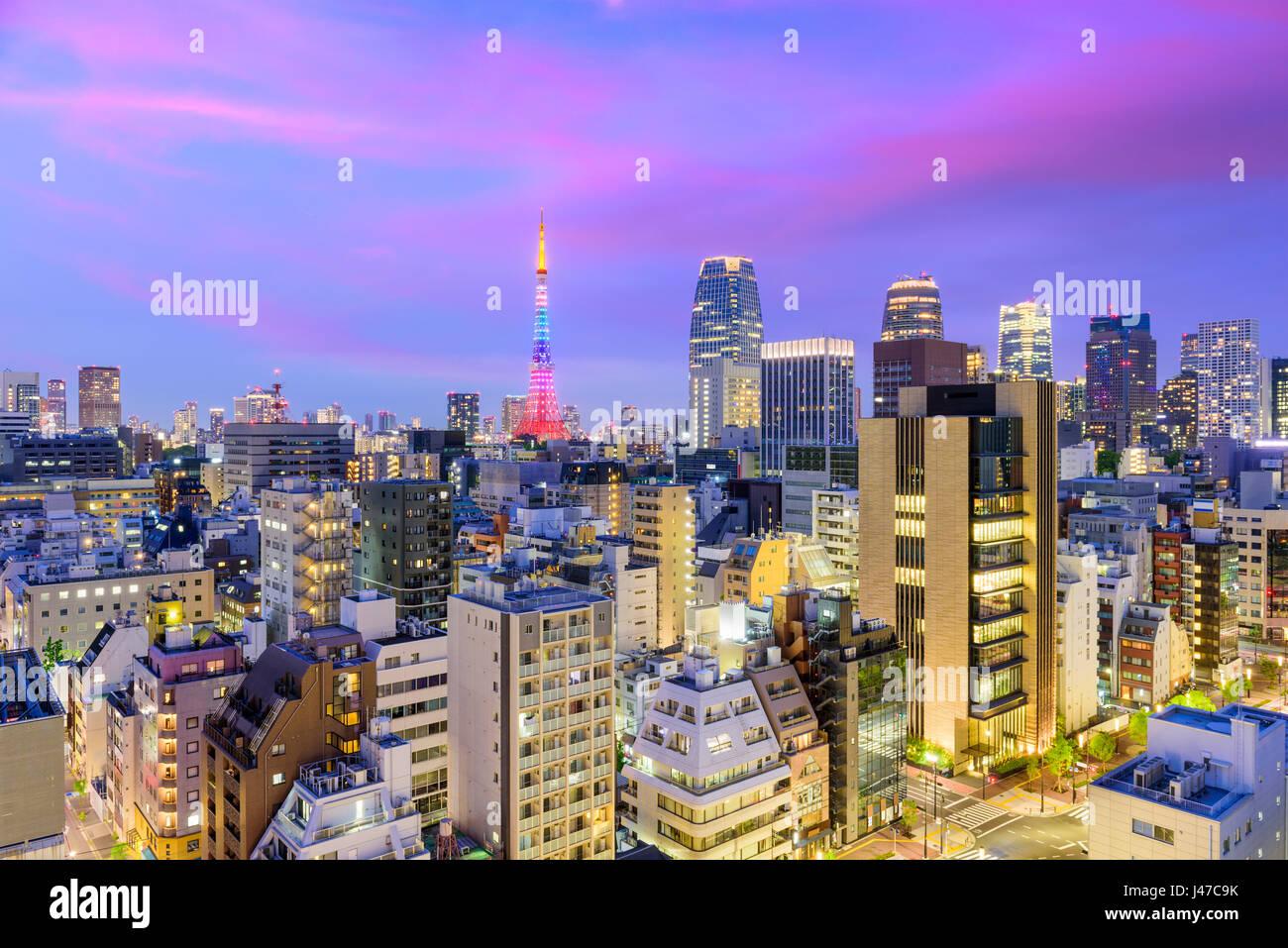 Tokyo, Japan Stockbild