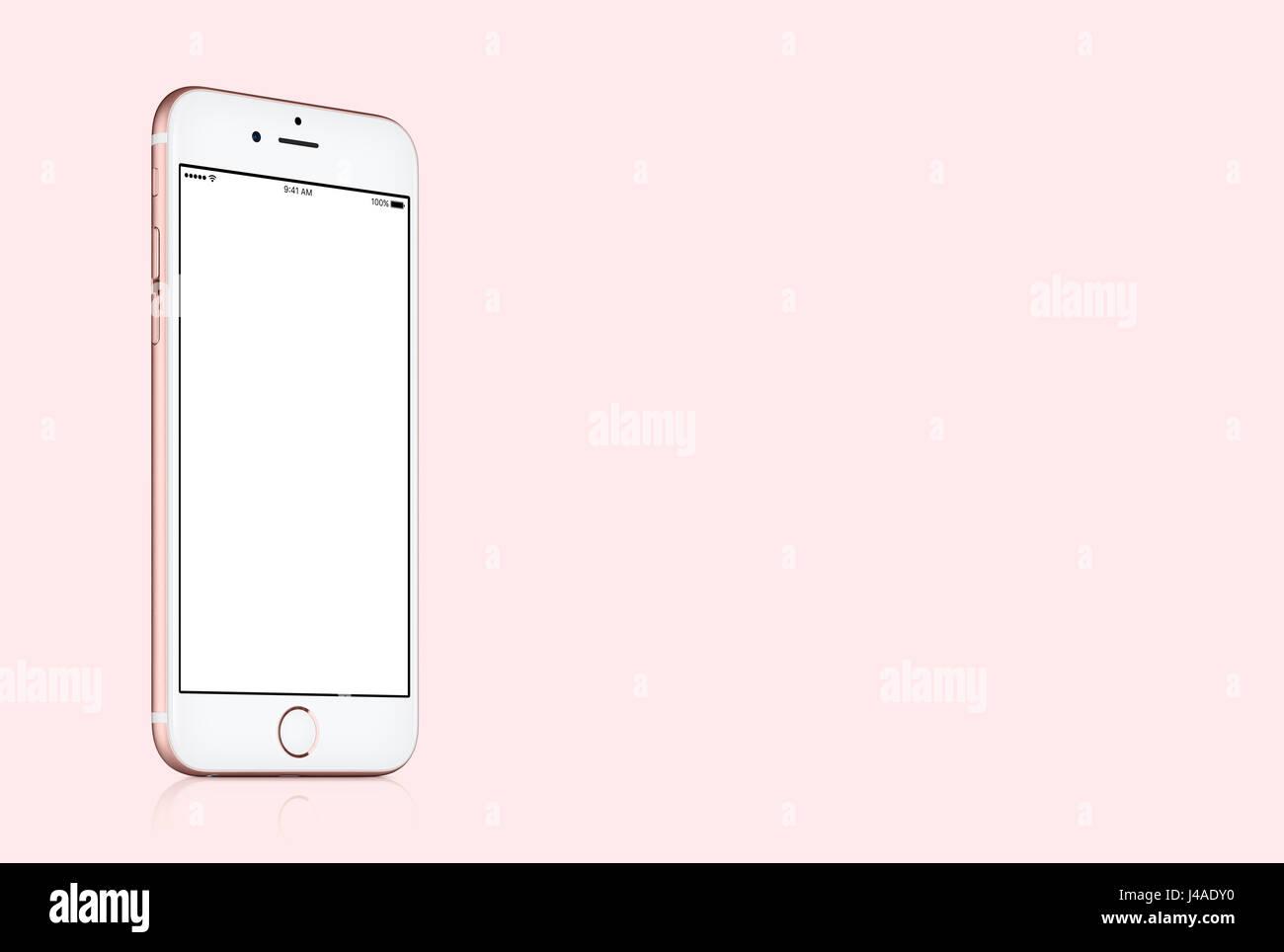 Hintergrund rosa iphone
