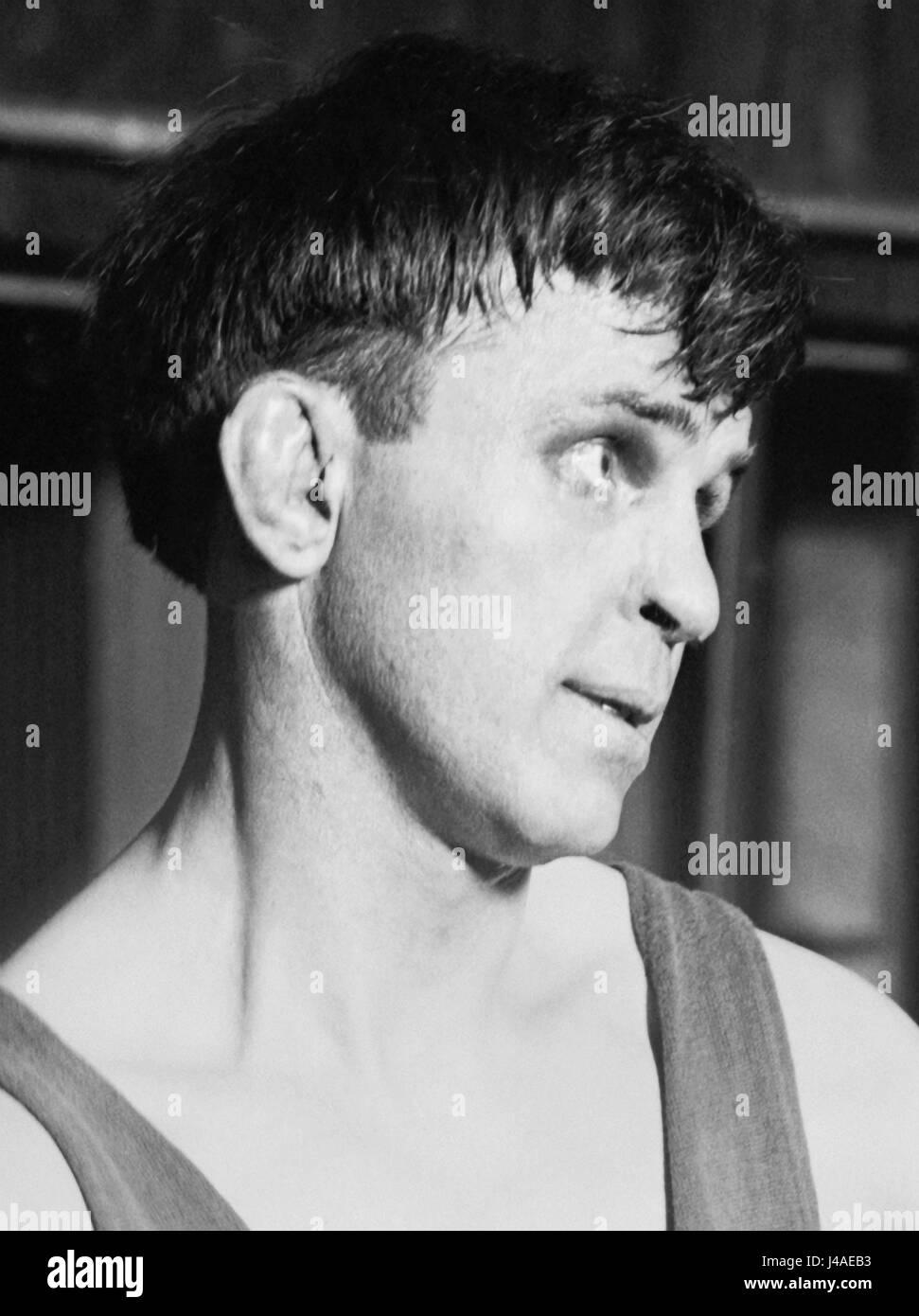 Vintage Foto von Boxer Battling Nelson (1882 ? 1954) ? World Lightweight Champion 1908 ? 1910. Nelson (richtiger Stockbild