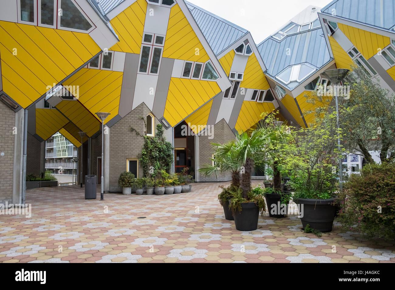 Außergewöhnliche architektonische Gestaltung des Cube Häuser ...