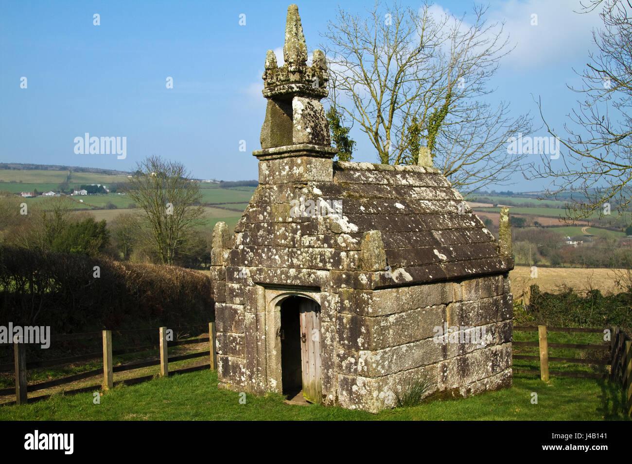 Dupath Heiligen nun wurde wahrscheinlich von den Mönchen von St. deutschen um 1510 erbaut und ist Belived zu Stockbild