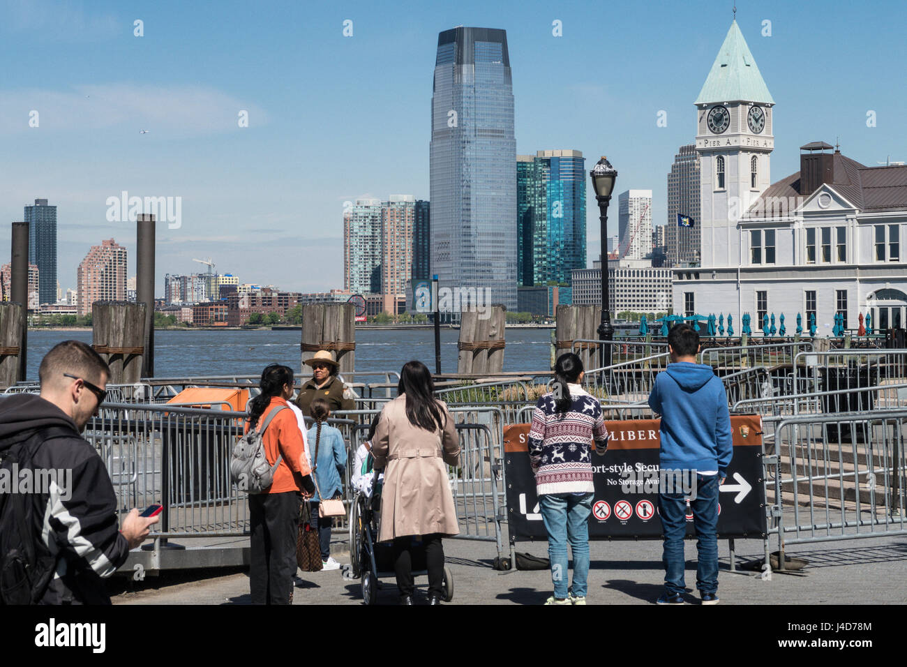Battery Park, New York City, USA Stockbild