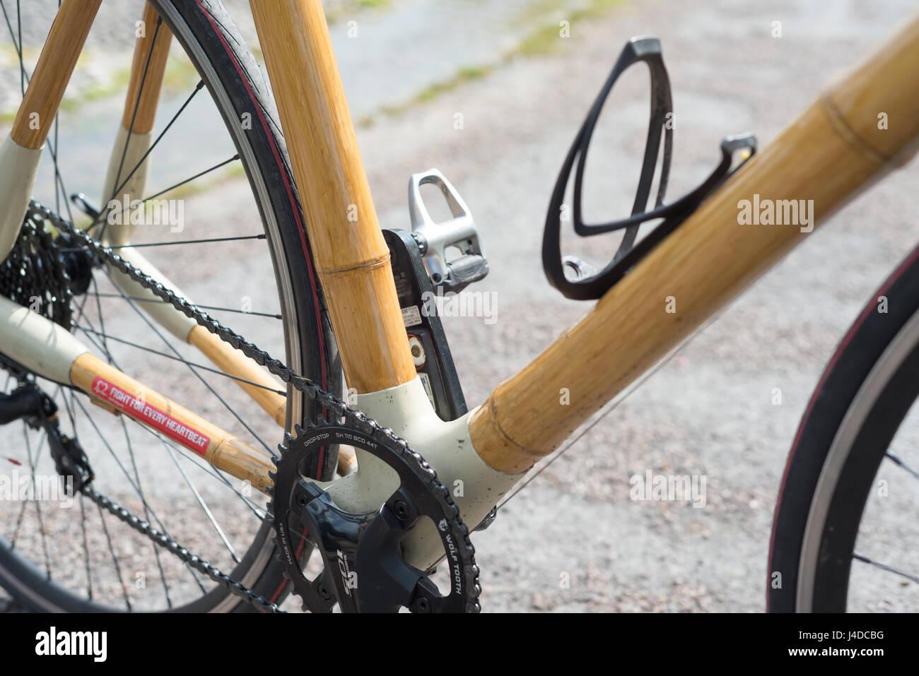 Bambus Fahrrad Stockfoto, Bild: 140436676 - Alamy