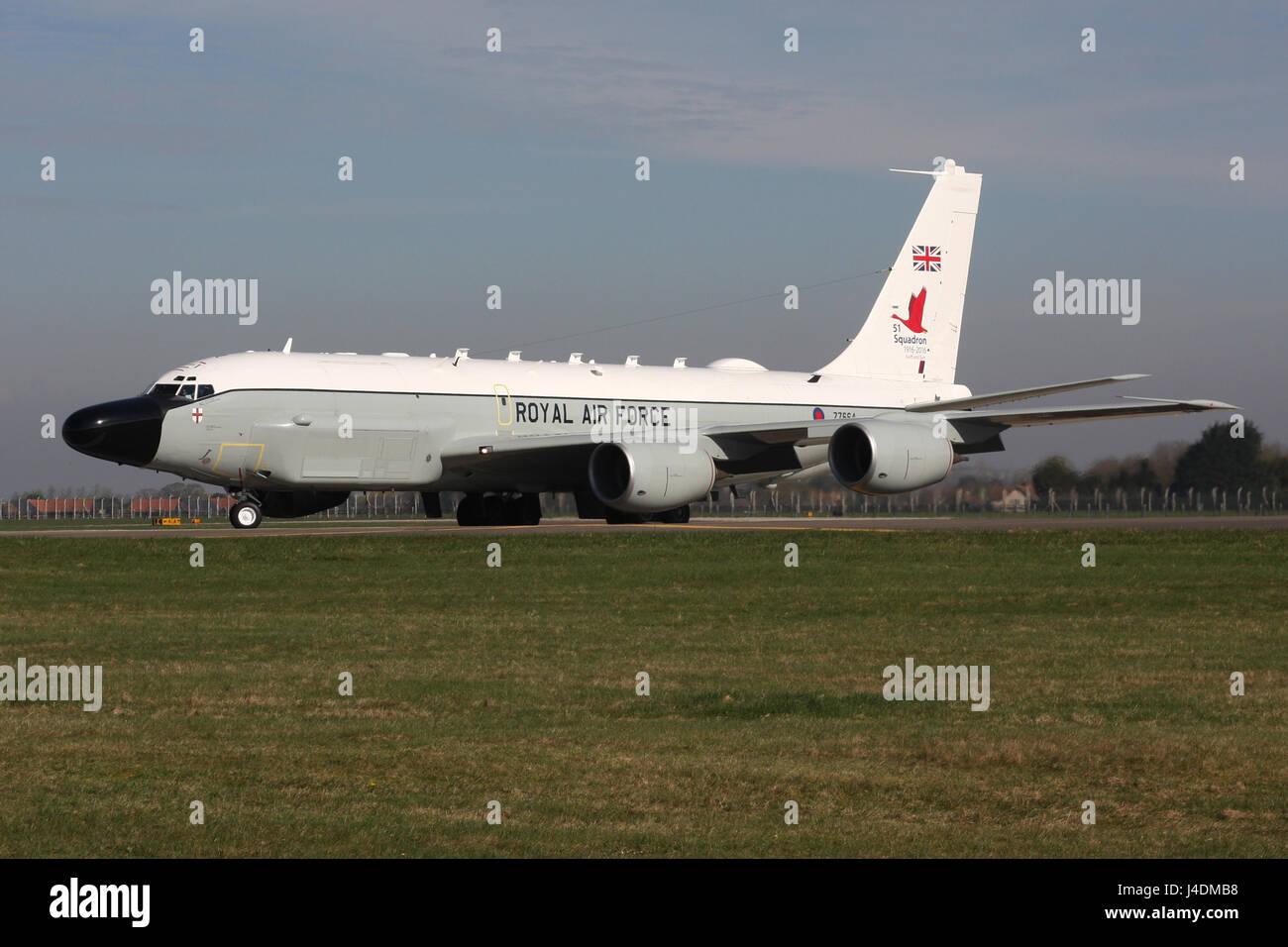 RAF RC135 AIRSEEKER RIVET JOINT Stockfoto