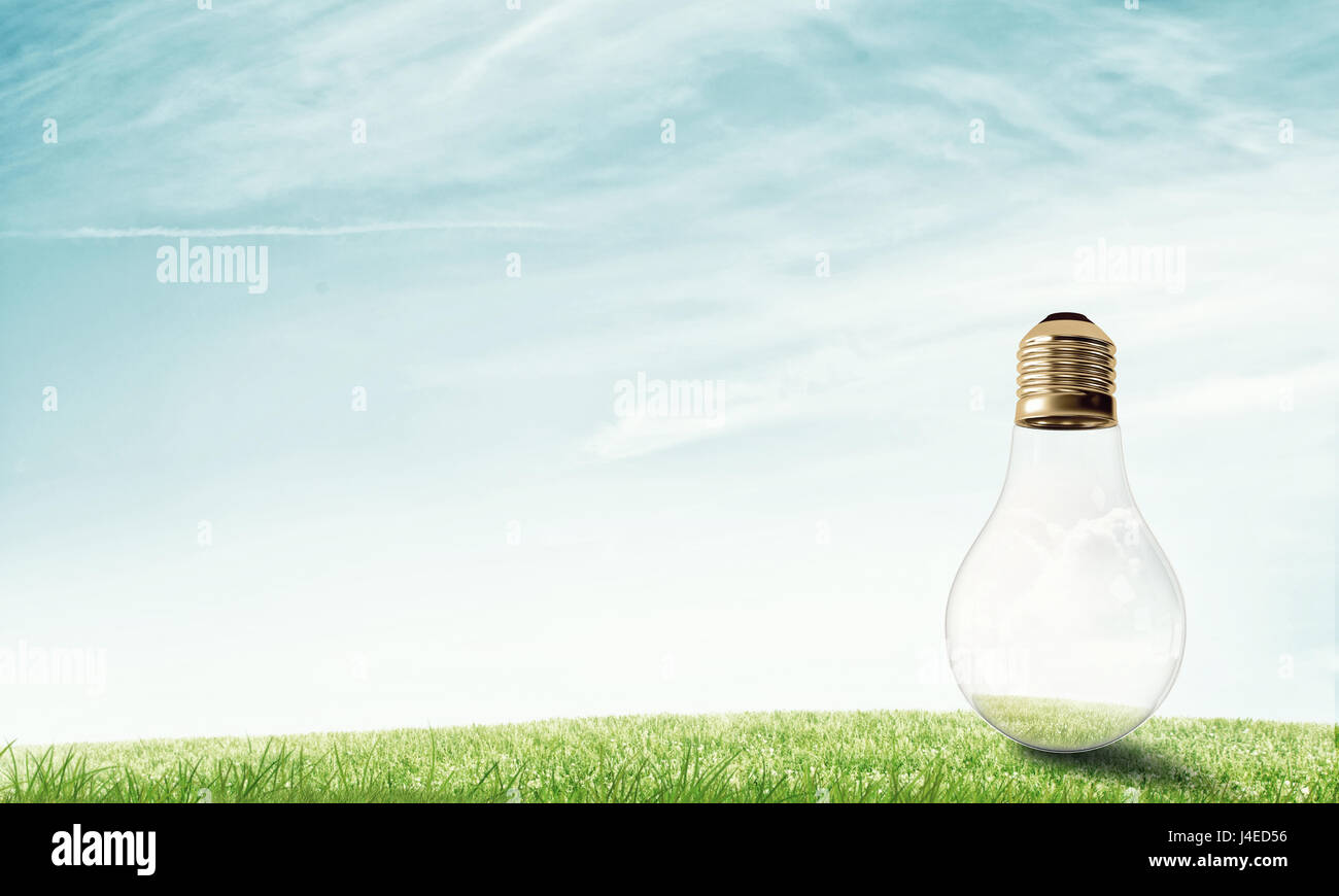Alternativenergie solar Konzept Stockbild