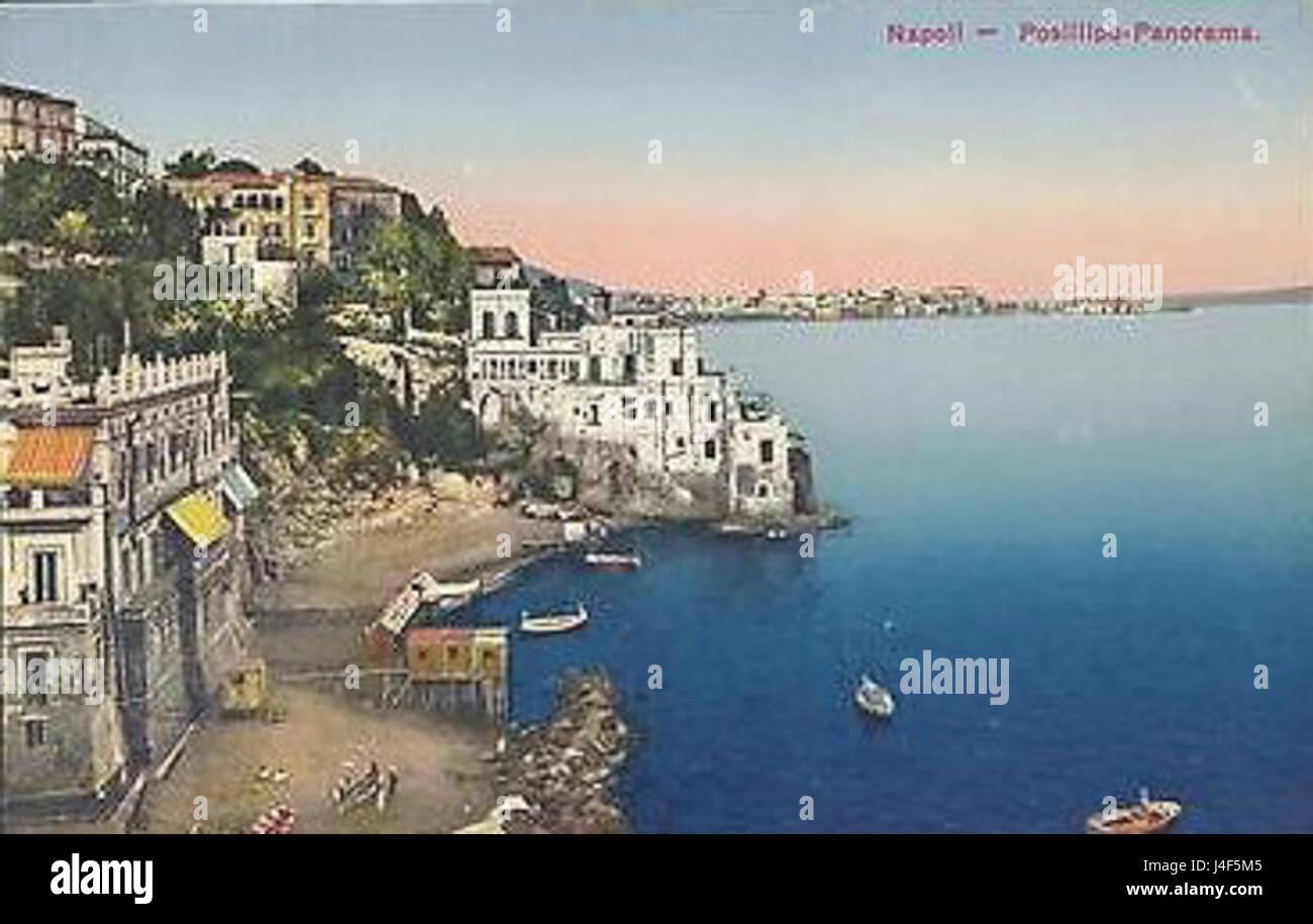 Napoli posillipo stockfoto bild alamy
