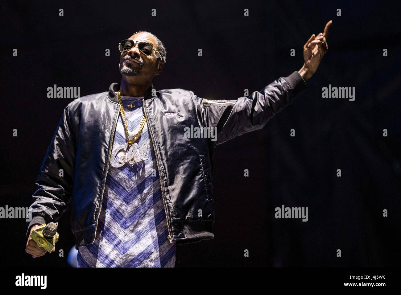 Snoop Dogg führt auf 2017 Beale Street Music Festival in Tom Lee Park in Memphis, Tennessee am 5. Mai 2017. Stockbild