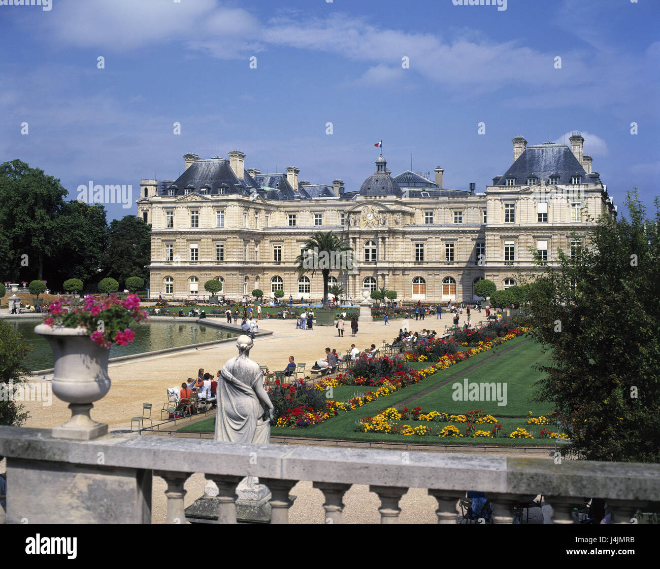 luxembourg park stockfotos luxembourg park bilder alamy. Black Bedroom Furniture Sets. Home Design Ideas