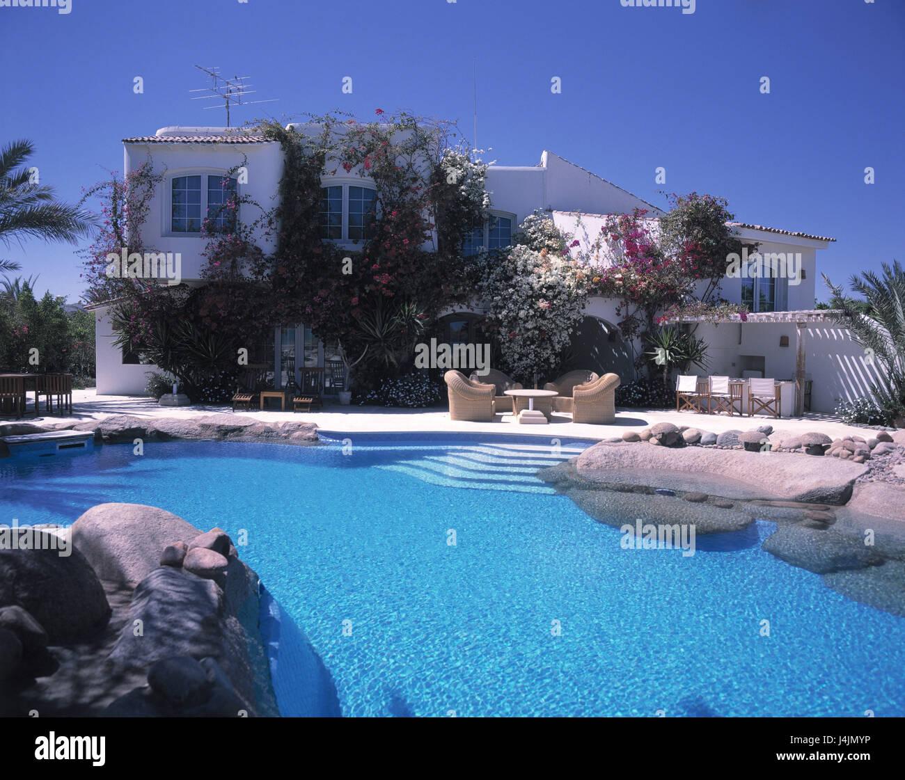 Villa Ferienhaus Schwimmen Pool Agypten Hurghada Region El Gouna Haus Architektonischen Stil Maurisch Maurischer Architektur Schwimmbad