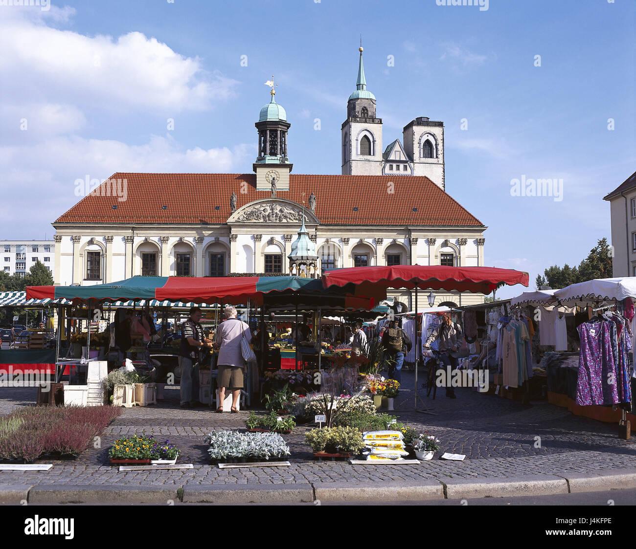Architektur Magdeburg deutschland sachsen anhalt magdeburg marktplatz rathaus