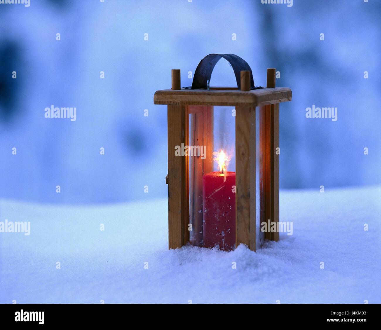 Schnee Laterne Dampfer Explosion Lampe Windlicht Flamme