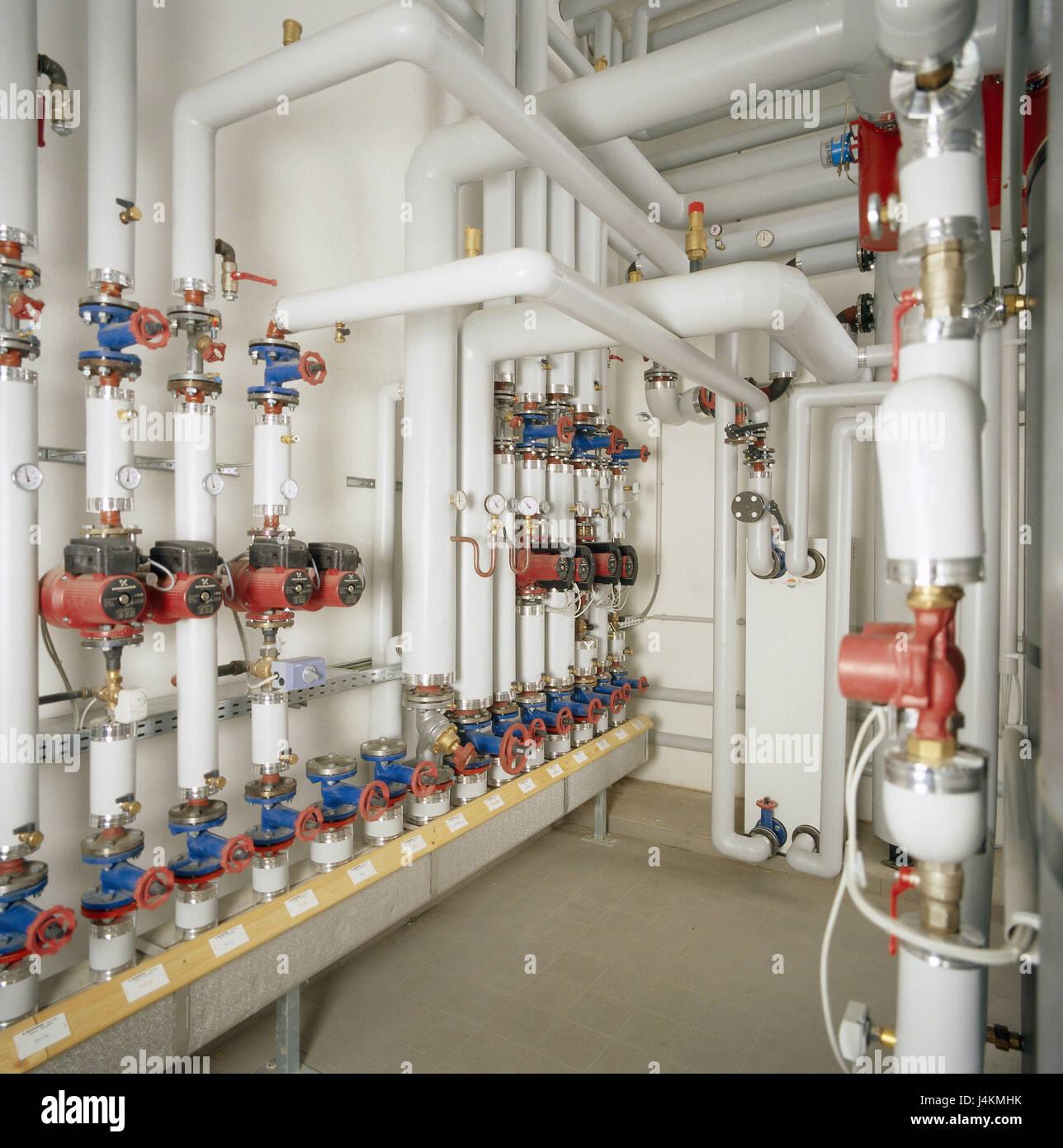 Heating Installation Stockfotos & Heating Installation Bilder - Alamy