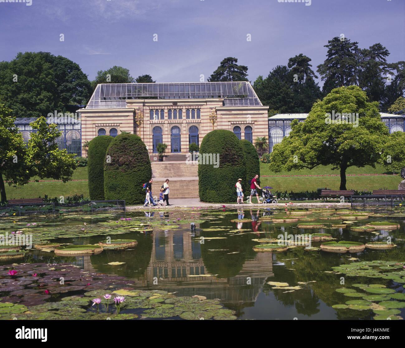 Garten Stuttgart: Deutschland, Baden-Wurttemberg, Stuttgart, Wilhelma, Zoo