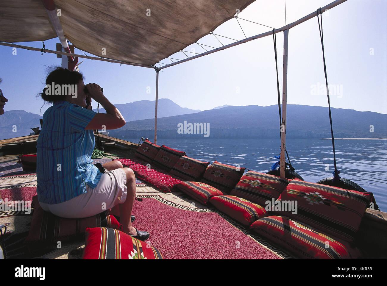 Oman halbinsel musandam meerenge detroit d ormuz urlaub schiff