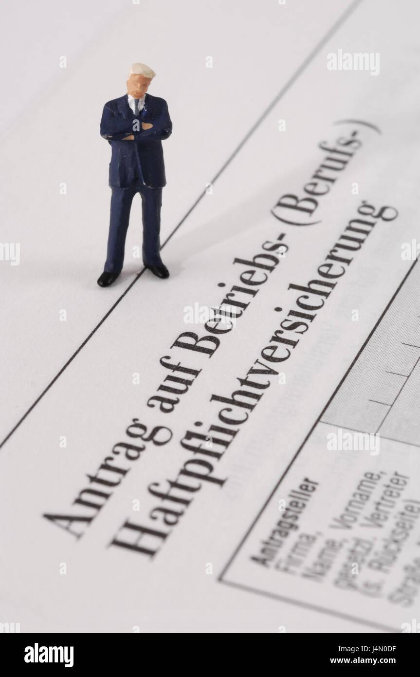 Form Haftpflichtversicherung Charakter Anfrageformular