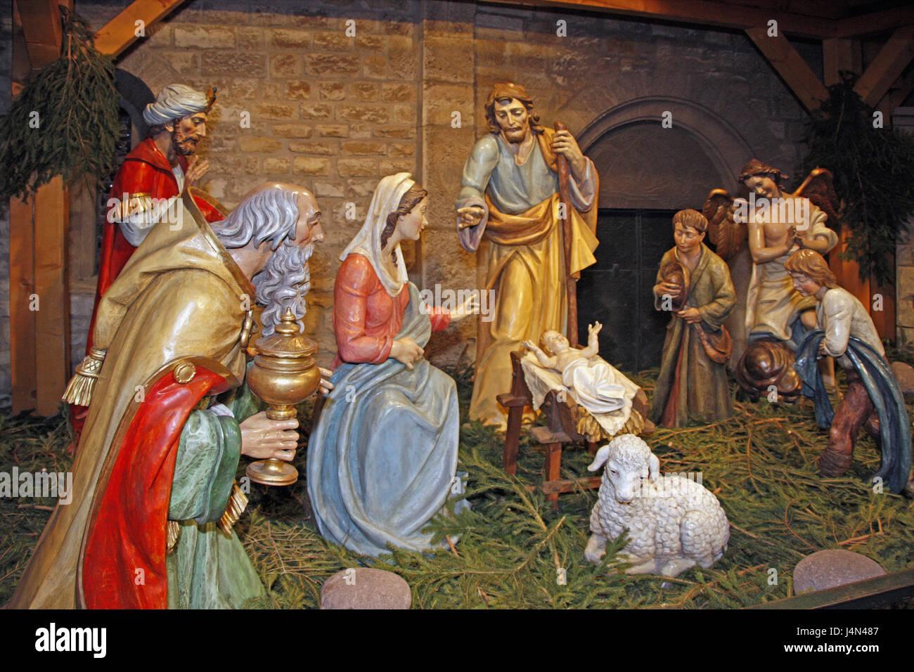 Bilder Krippe Weihnachten.Krippe Krippenfiguren Deutschland Rheinland Pfalz Mainz