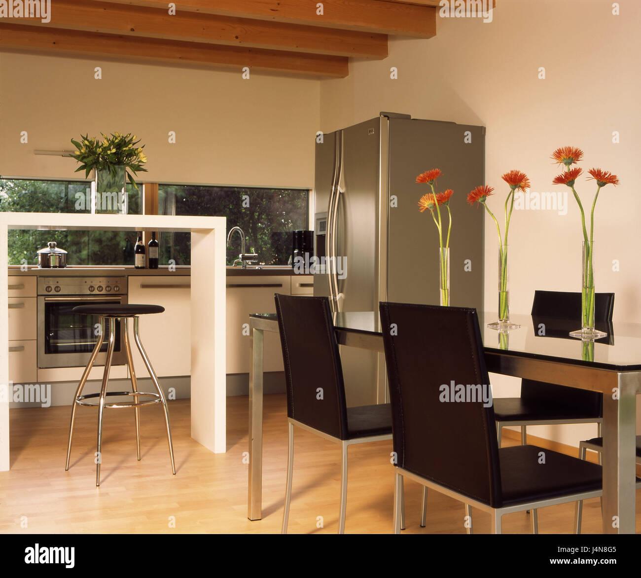 Wohnhaus Eberle, Küche, Restaurants, Bereich, moderne, Wohn-Haus ...