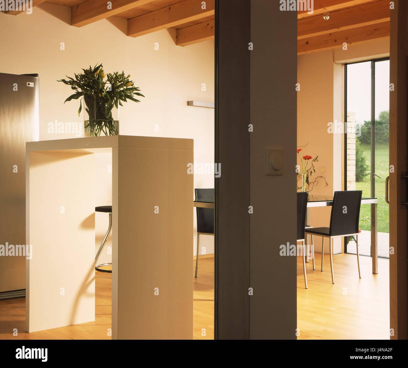 moderne innenarchitektur einfamilienhaus, wohnhaus eberle, essen im inneren bereich, moderne, wohn-haus, Design ideen