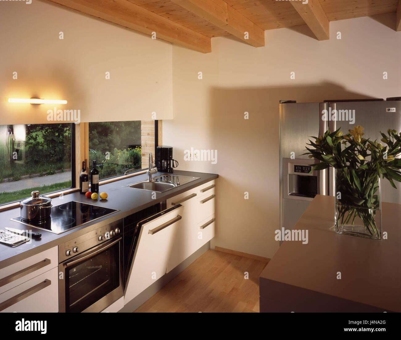 Wohnhaus Eberle, Küche, Moderne, Wohn Haus, Einfamilienhaus, Eigenheim,  Haus, Innen, Inneneinrichtung, Innenarchitektur, Live, Wohn Stil,  Wohnkultur, ...