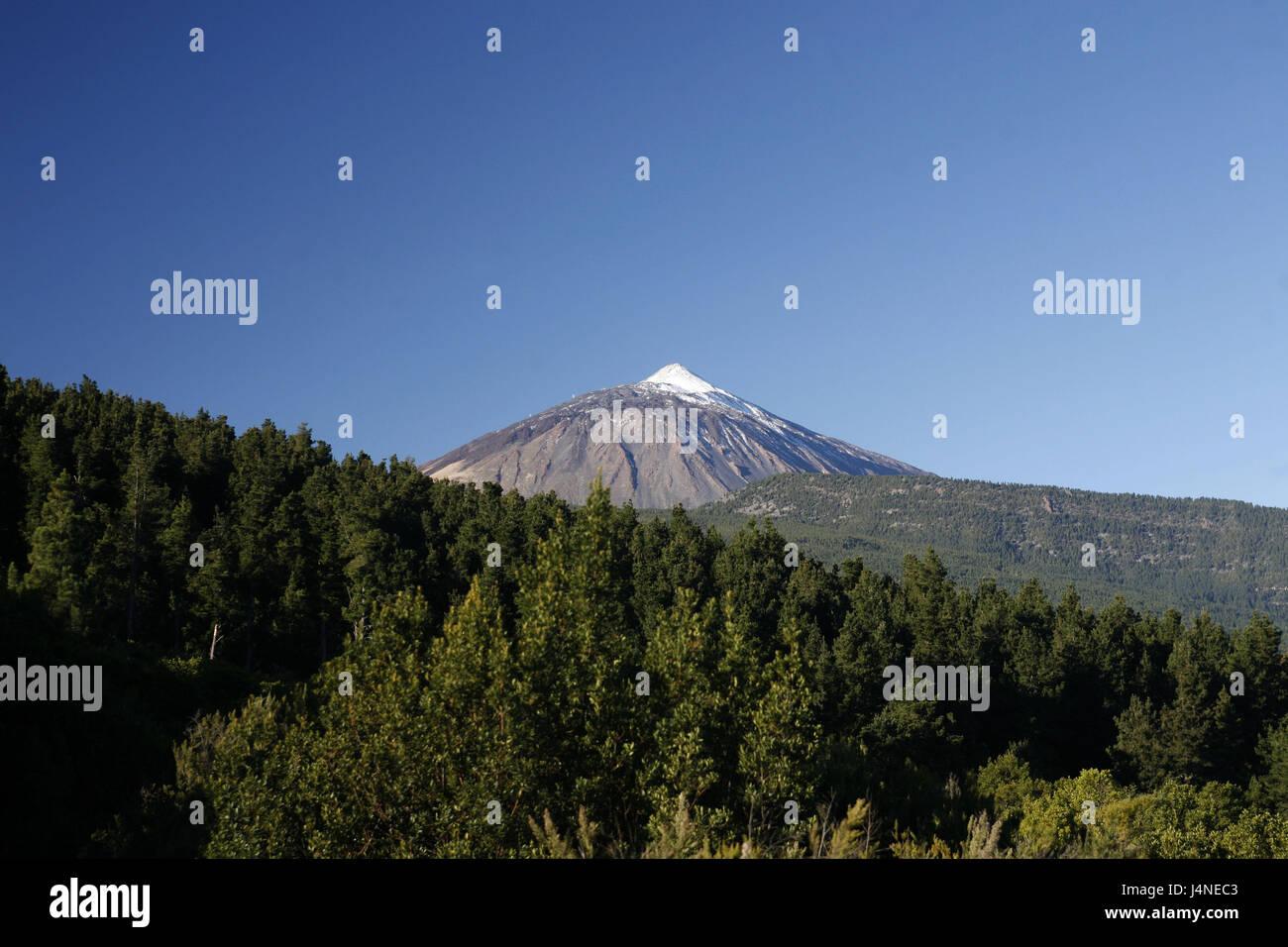 Spanien, Teneriffa, Pico del Teide, Stockfoto