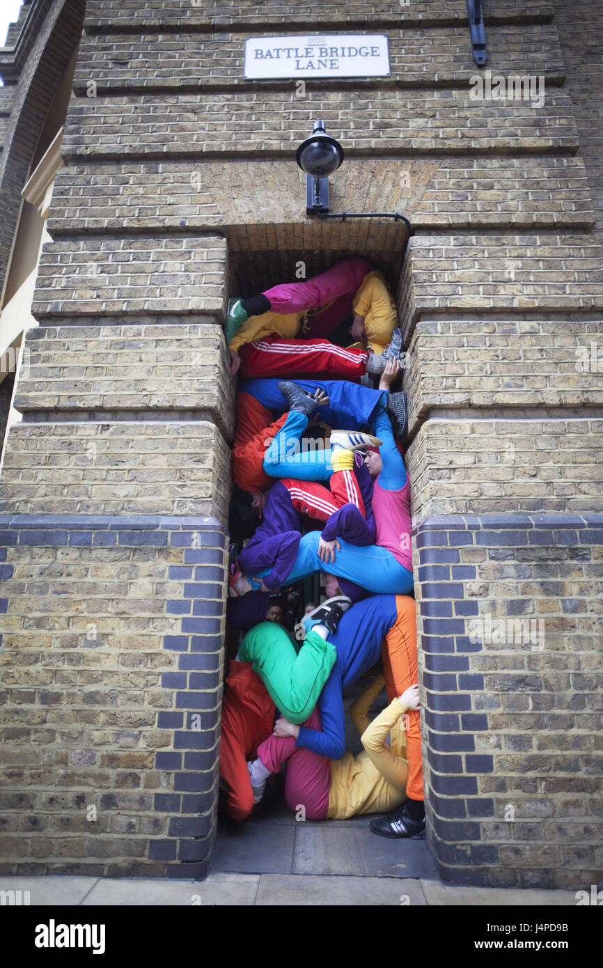 Großbritannien, England, London, Southwark, Urbane Spa C flache Show, Turm, Blende, Menschen, kein Model-Release, Stockbild