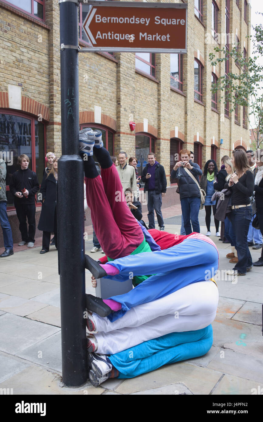 Großbritannien, England, London, Southwark, Urbane Spa C flache zeigen, Menschen, kein Model-Release, Stockbild