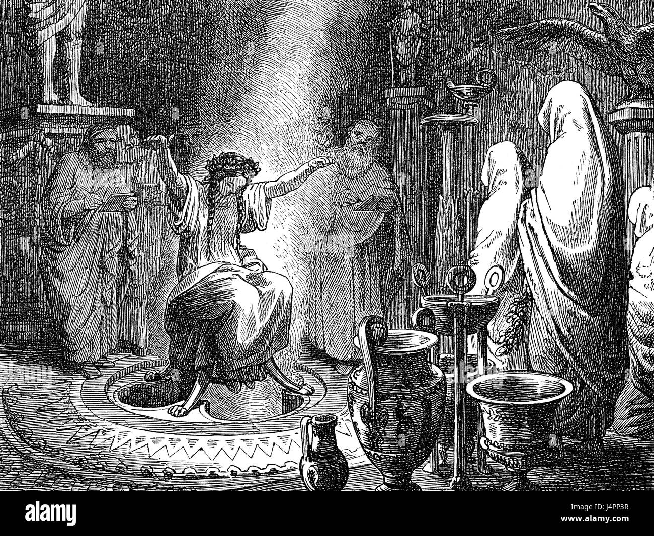 pythia the oracle of delphi The ancients were right - delphi was a gas the oracle of delphi was the most important shrine explained that the pythia's trance state was induced by.