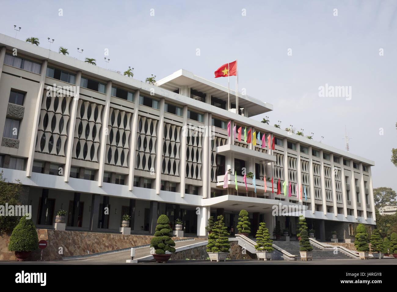 Vietnam, Ho-Chi-Minh-Stadt, Palast der Wiedervereinigung, Stockbild
