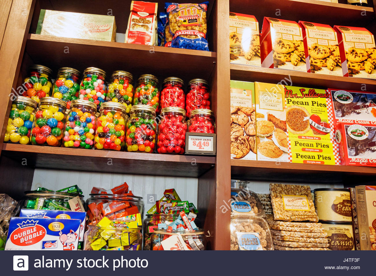 Candy chain stockfotos candy chain bilder alamy for How did cracker barrel get its name