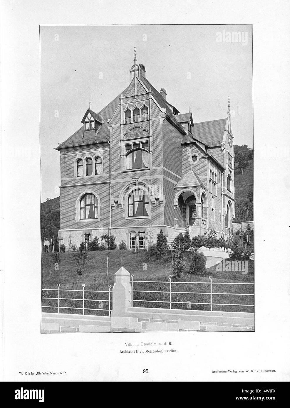 Architekt Bensheim villa in bensheim a.d.b, architekt hrch. metzendorf aus bensheim