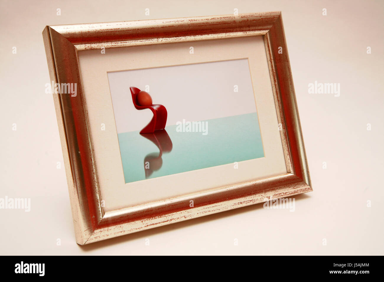 Silver Photo Frame Picture Stockfotos & Silver Photo Frame Picture ...