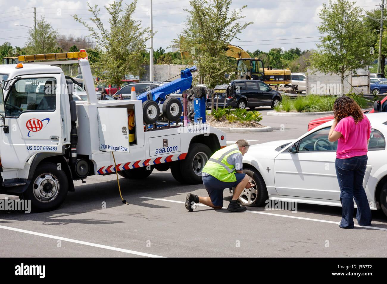 Usa American Tow Truck Stockfotos Amp Usa American Tow Truck