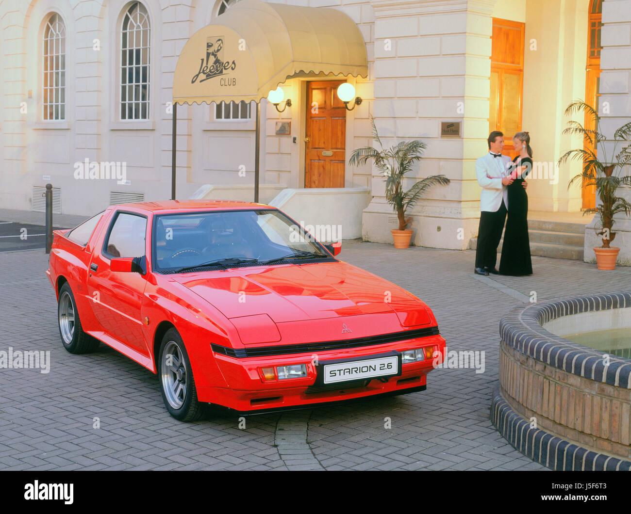 1989-Mitsubishi Starion 2,6 Stockbild