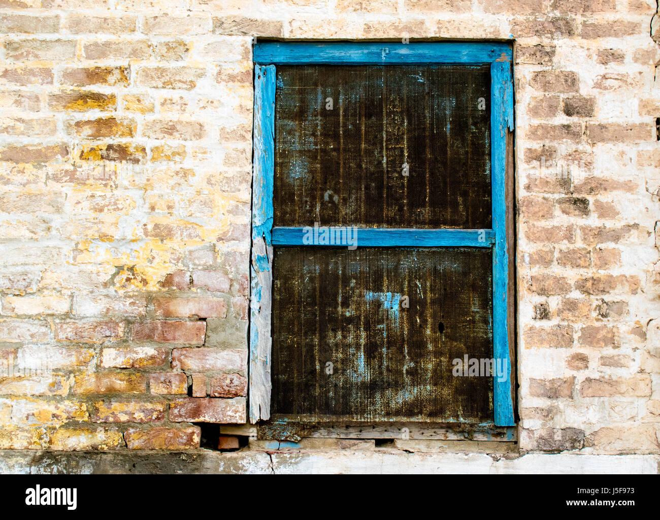 Eine alte Fensterrahmen Stockfoto, Bild: 141092759 - Alamy