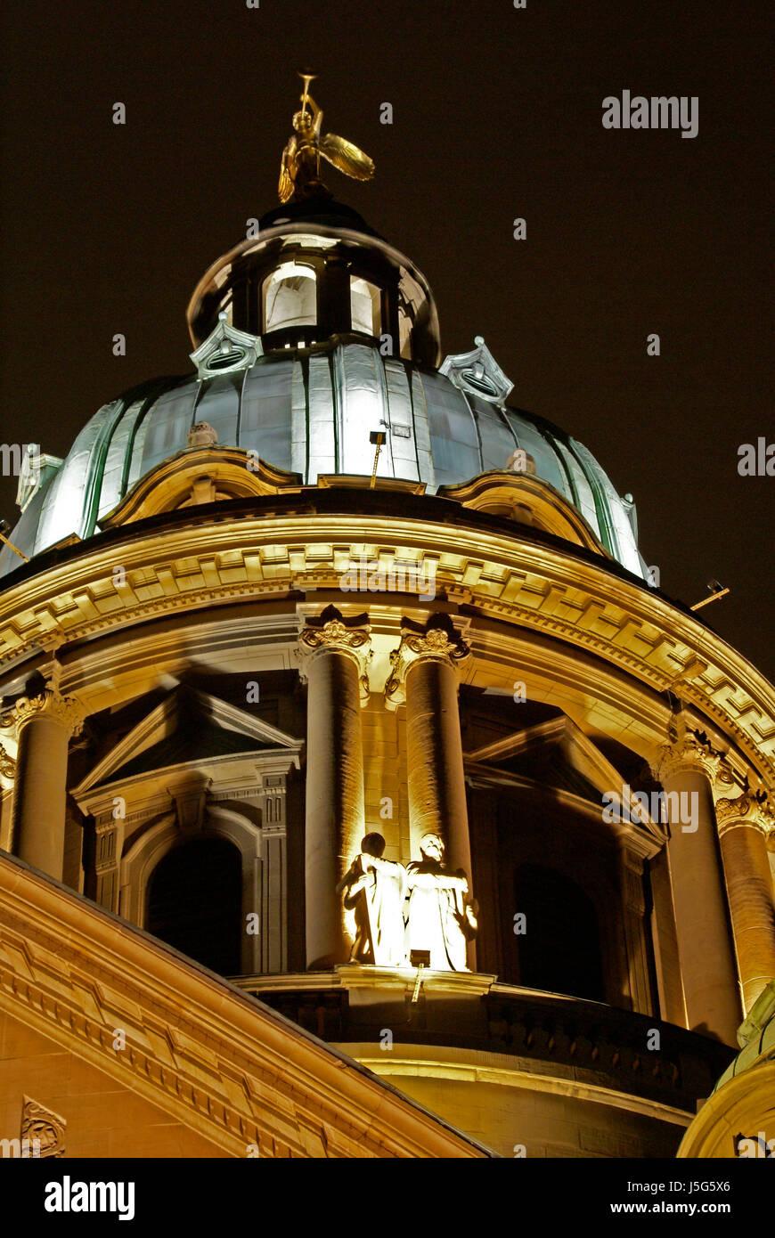 Kirche Stadt Stadt Romantik Stil der architektonischen Konstruktion Architektur Stockbild